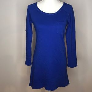 Altar'd State blue sweater dress